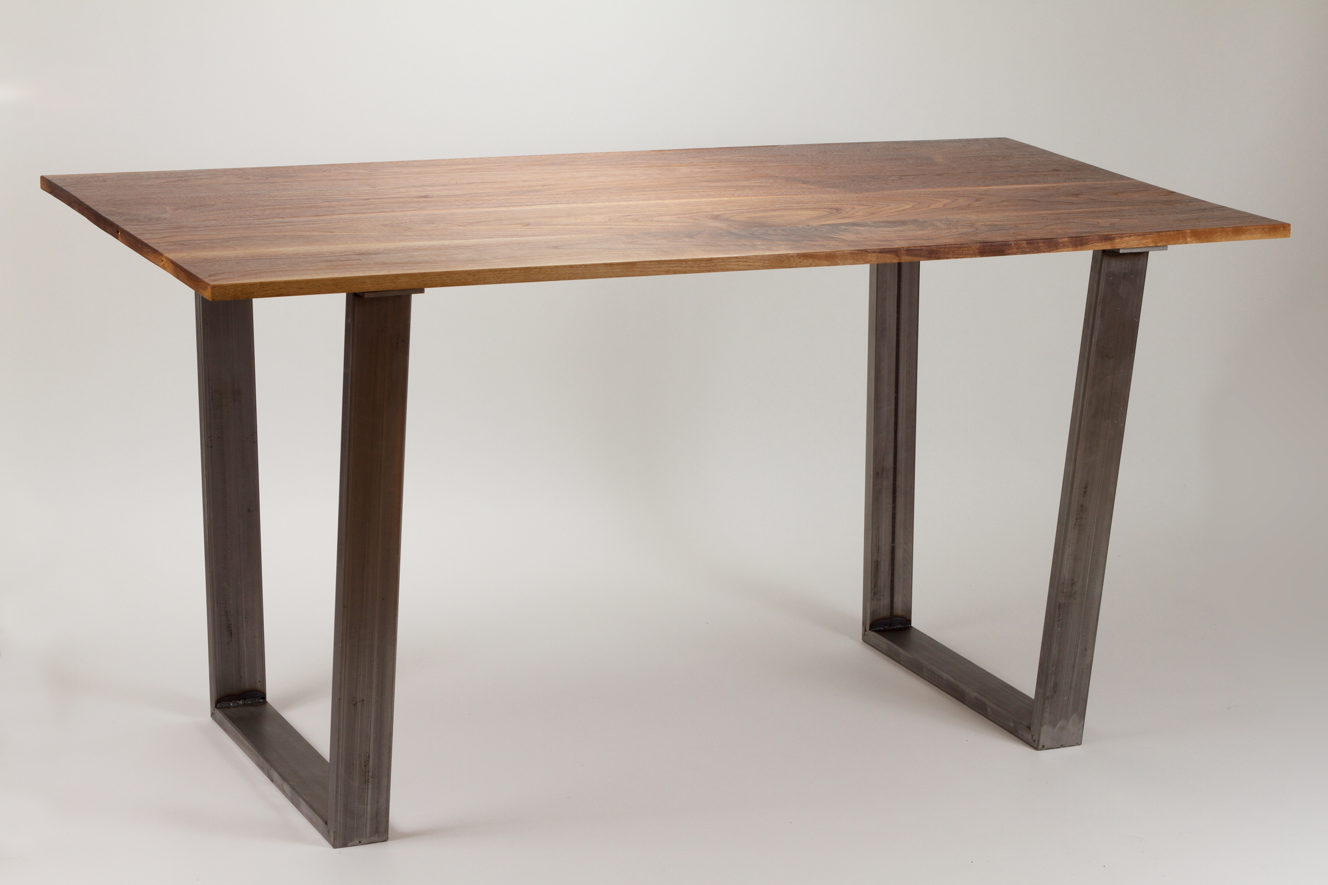 Modern Dining Table Solid Wood And